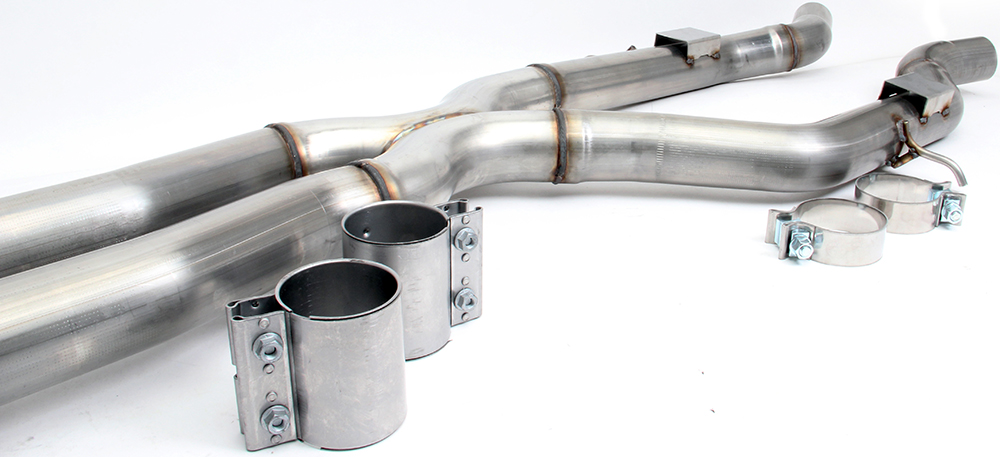 Dinan High Flow X-Pipe BMW M3 M4 F80 F82 (2)