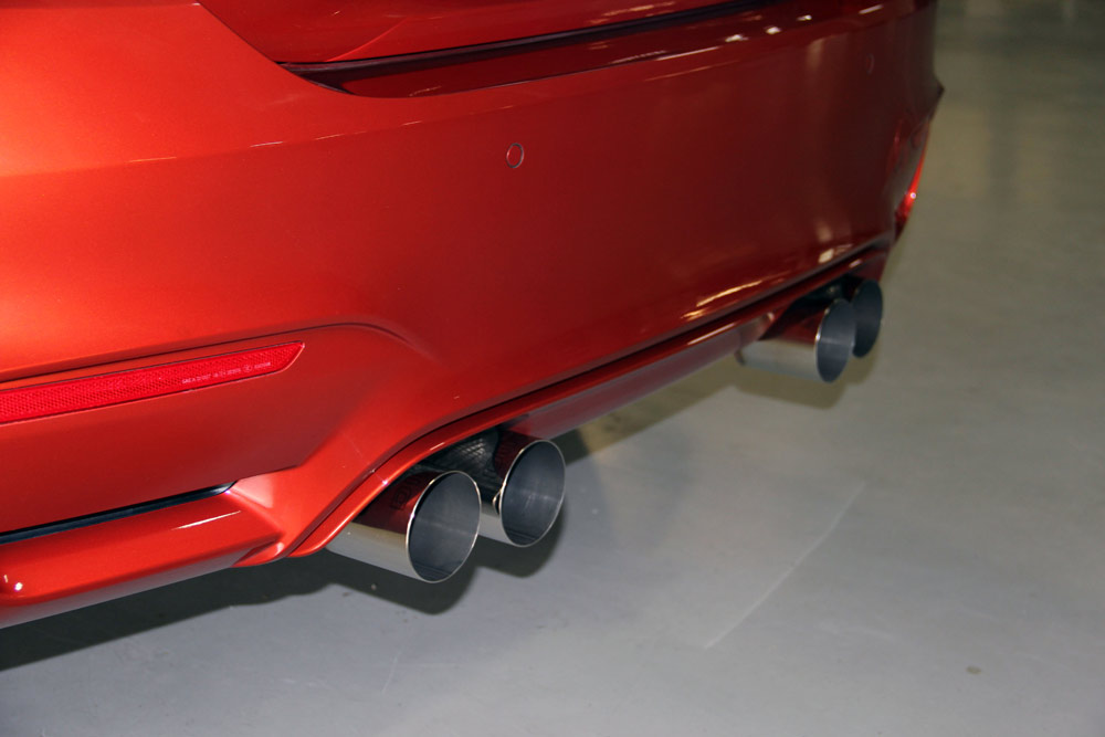 Dinan Free Flow Stainless Exhaust Installed (2)