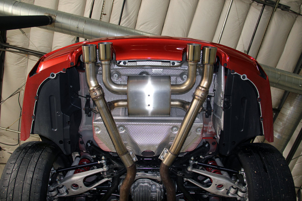Dinan Free Flow Stainless Exhaust Installed (3)