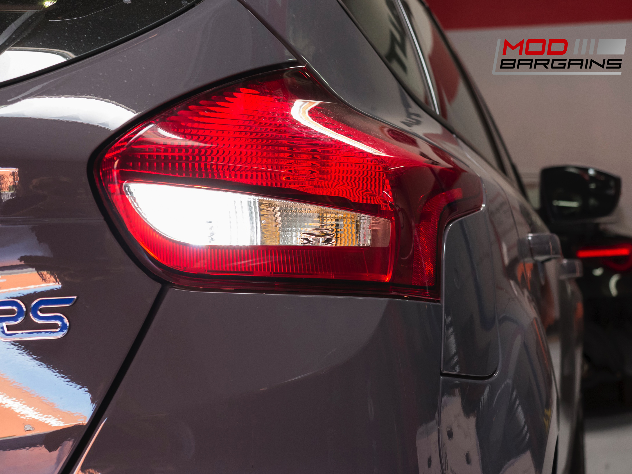 Diode Dynamics Backup LEDs Installed on 2016 Ford Focus RS