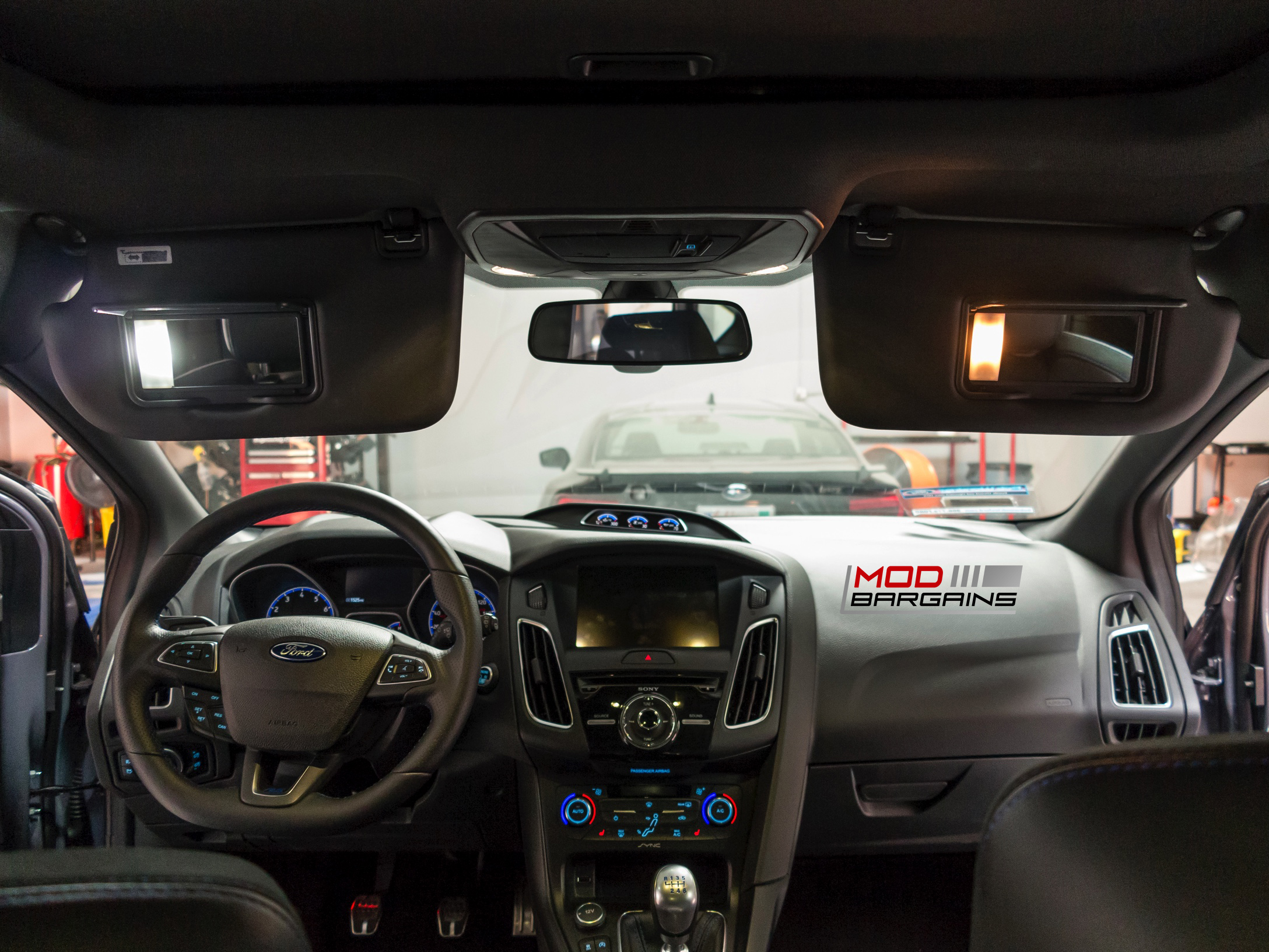 Vanity light LEDs for 2016 Ford Focus RS