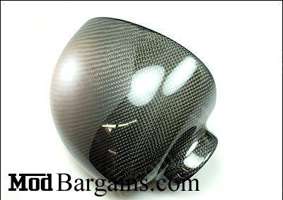 BMW E46 M3 Carbon Fiber Mirror Covers @ ModBargains.com