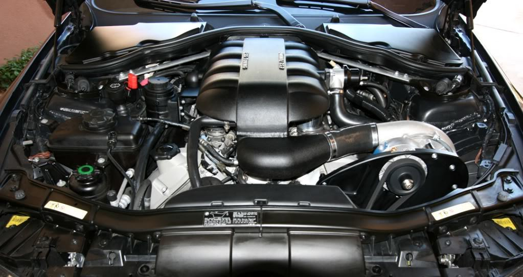 ESS Tuning VT1-550 Supercharger for BMW M3 E9X Installed (4)