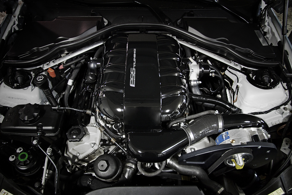 ESS Tuning VT1-550 Supercharger for BMW M3 E9X Installed
