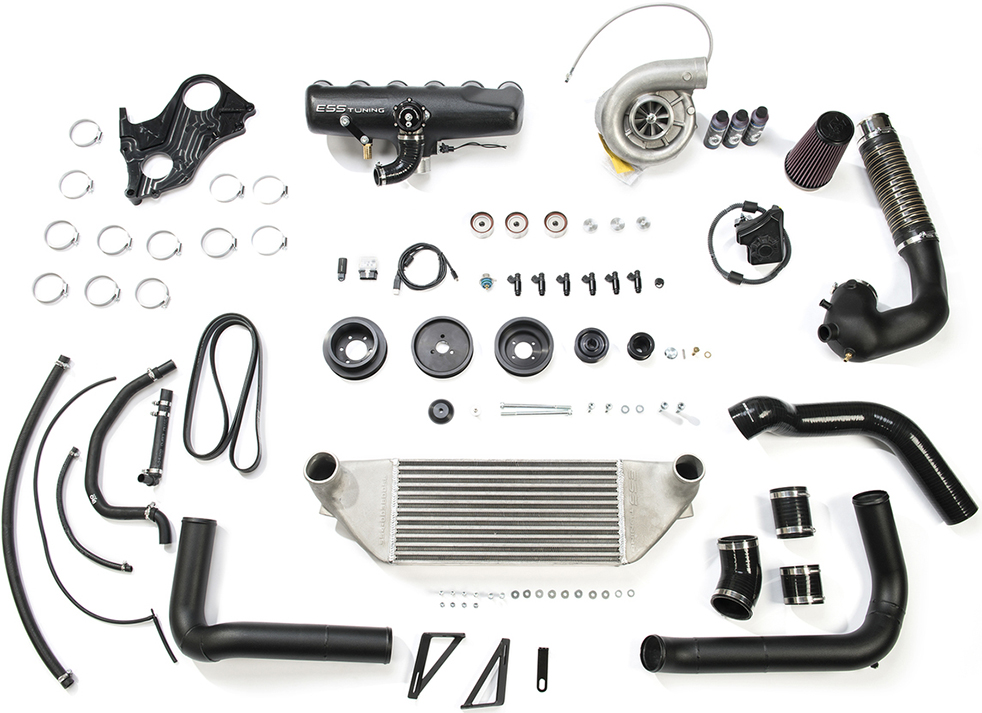 ESS Tuning VT2-525 Supercharger System Gen 3 for BMW M3 E46