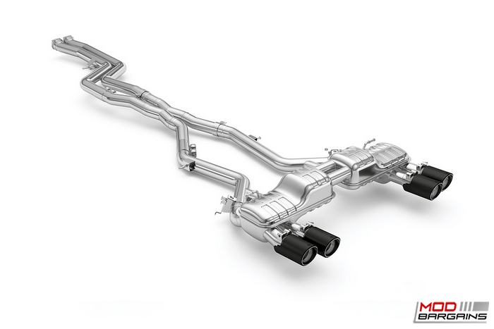 BMW carbon Fiber exhaust tips, Competition Valved Exhaust System, F87 M2 Competition, comp, eisenmann, lemans,s55 engine , MODBARGAINS.COM