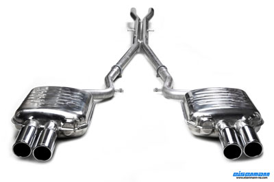 Eisenmann Exhaust for the Audi RS4 B7
