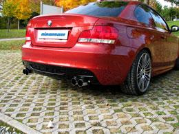 Eisenmann Exhaust BMW E82 135i Round Dual Tips (4 x 76 mm)