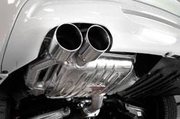 Eisenmann Exhaust BMW E82 135i Round Dual Tips (2 x 83 mm)