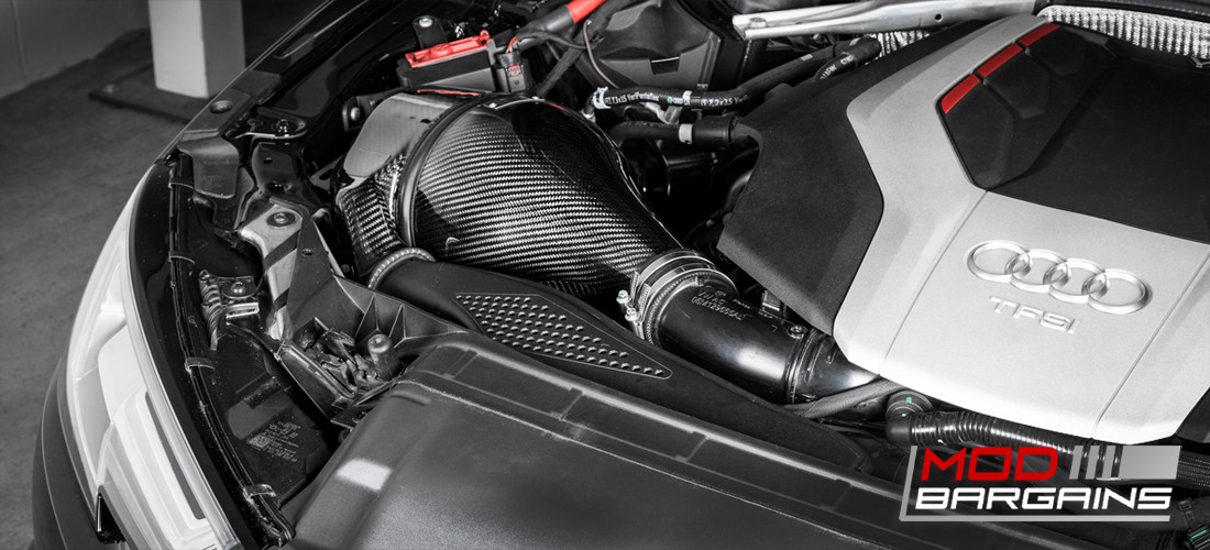 Eventuri Carbon Fiber Inverse Filter Intake 2016+ Audi B9 S4 2017+ S5 EVE-B9S5-CF-INT