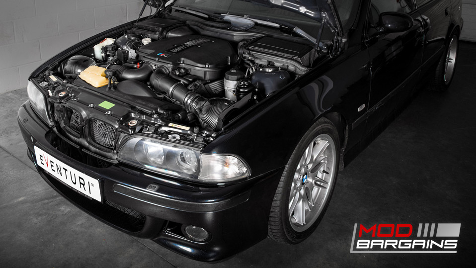 Eventuri Carbon Fiber Inverse Filter Intakes BMW E39 M5