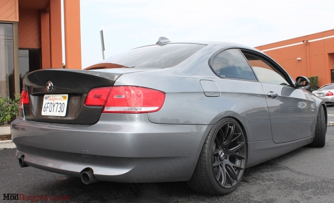 CSL-Style Trunk/Bootlid in 2x2 carbon Fiber Weave (2)