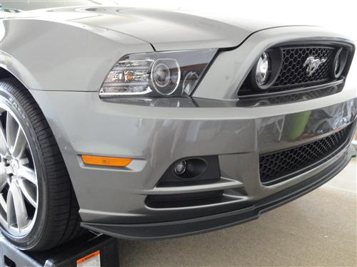Ford Racing Boss 302 Front Chin Spoiler Kit Installed