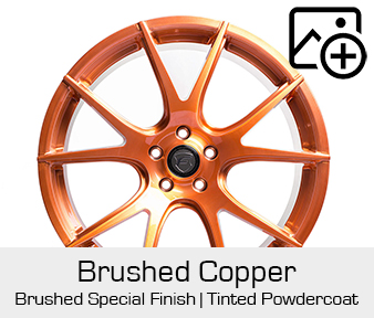 Forgestar Special Finish Brushed Copper