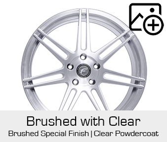 Forgestar Special Finish Brushed with Clear