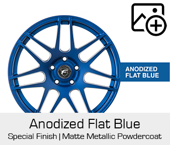 Forgestar Special Finish Anodized Matte Blue