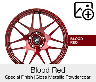 Forgestar Special Finish Blood Red