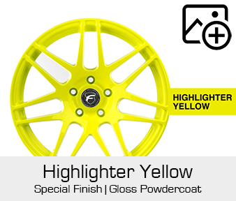 Forgestar Special Finish Highlighter Yellow