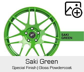 Forgestar Special Finish Saki Green