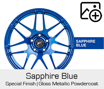 Forgestar Special Finish Sapphire Blue