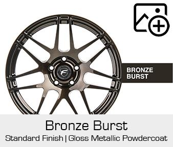 Forgestar Standard Finish Bronze Burst