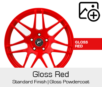 Forgestar Standard Finish Gloss Red