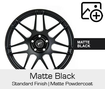 Forgestar Standard Finish Matte Black