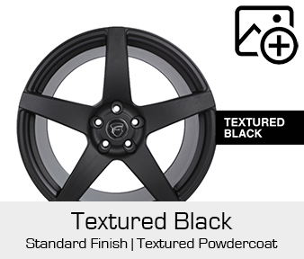 Forgestar Standard Finish Textured Black