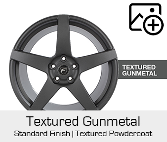 Forgestar Standard Finish Textured Gunmetal