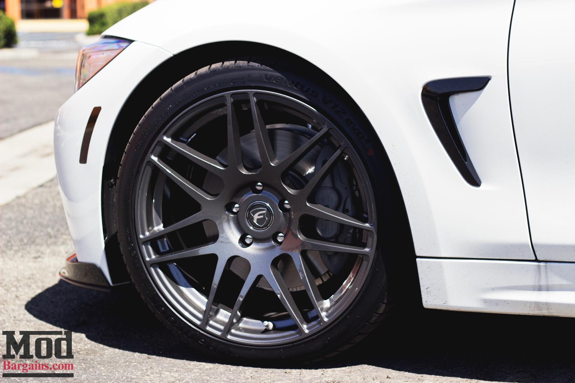 Forgestar F14 Wheels for BMW F32 435i 4-Series Installed 5