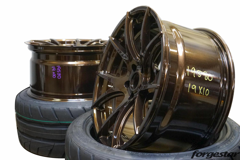 Bronze Burst Forgestar CF5V 19x10 Pair