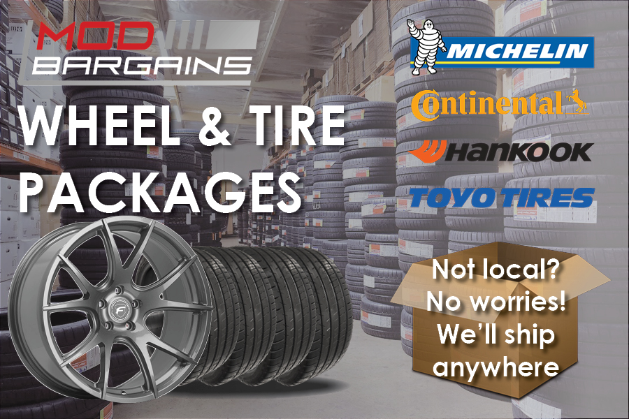 Wheel and Tire Packages at Mod Bargains