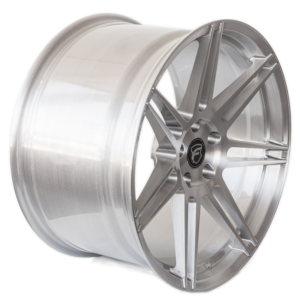 Forgestar CF7S Deep Concave Wheels Brushed with Clear Finish