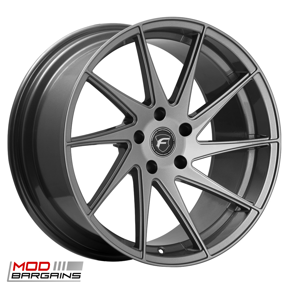 Forgestar F10D Deep Concave Wheel for Ford 19in Silver