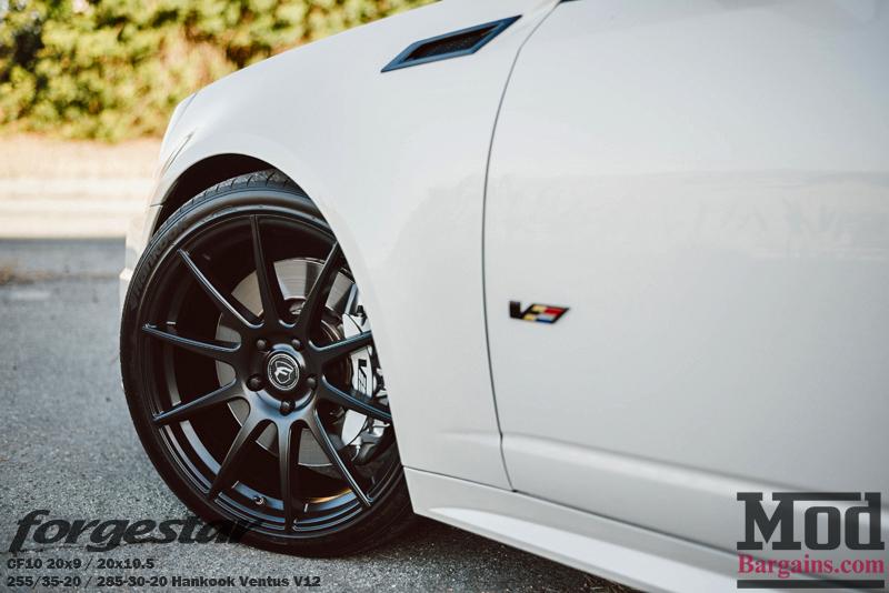 Forgestar CF10 Wheels on Cadillac CTS-V
