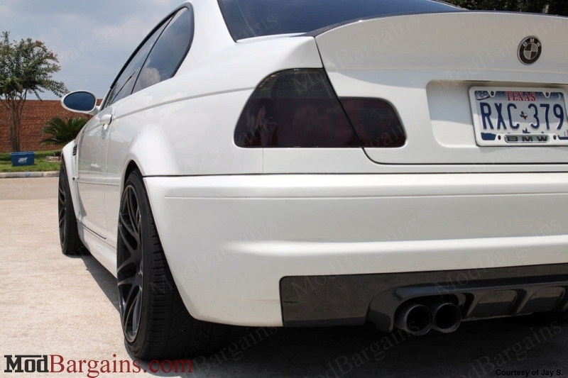 Forgestar F14 in Piano Black on BMW E46 M3 Front: 19x9.0 Rear: 19x11