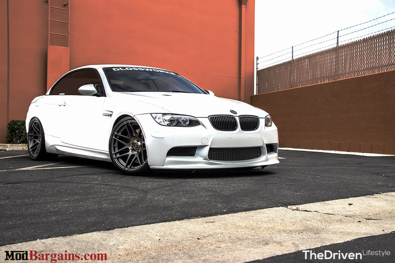 Forgestar F14 Super Deep Concave on 2007-13 BMW M3 E93 SemiGloss Gunmetal at ModBargains.com 1