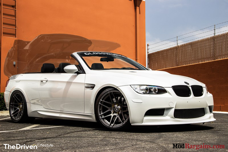 Forgestar F14 Super Deep Concave on 2007-13 BMW M3 E93 SemiGloss Gunmetal at ModBargains.com 4