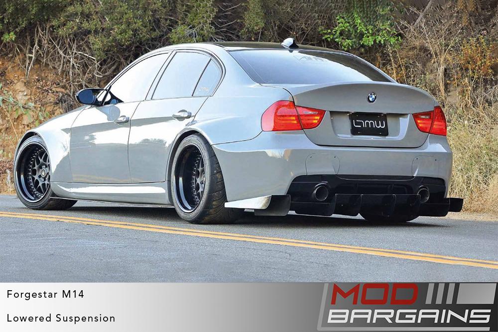 BMW E90 3-Series M3 Grey on Forgestar M14 2-piece Modular Wheels Modbargains
