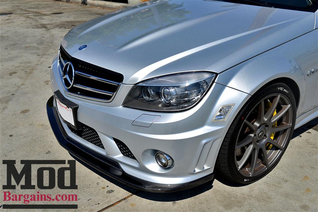 Forgestar CF10 Wheels on Mercedes Benz W204 AMG at ModBargains.com Installed 2