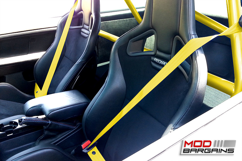 Gaphix Colored Seat Belts yellow 1995-1999 BMW E36 M3