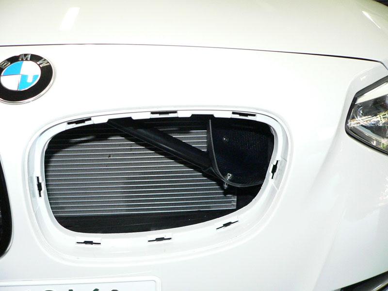Gruppe M Carbon Fiber Intake System BMW Behind Grill