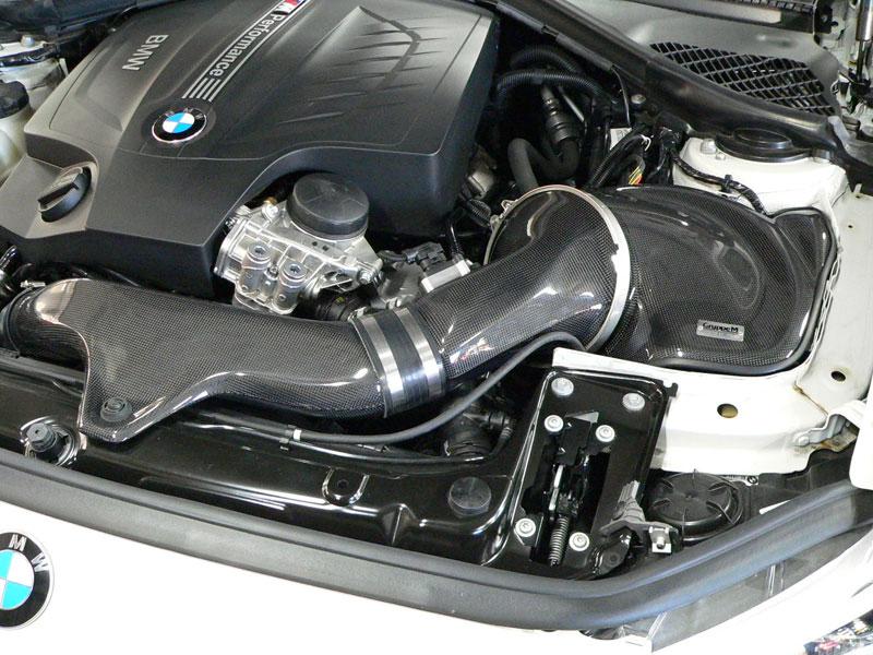 Gruppe M Carbon Fiber Intake System BMW Installed