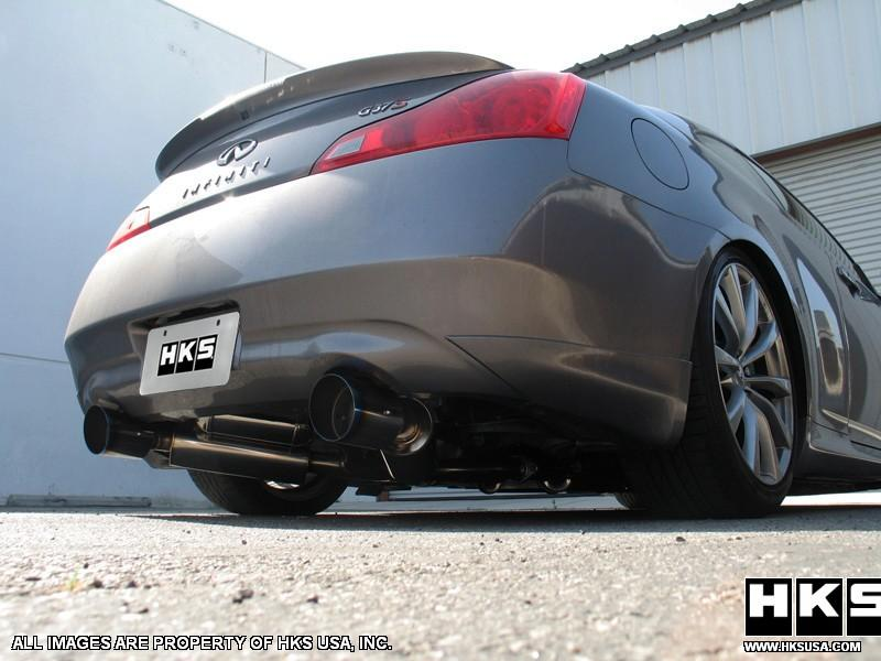 HKS Hi power exhaust for G37 @ ModBargains.com