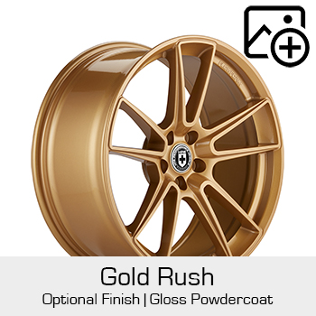 HRE Optional Finish Gold Rush