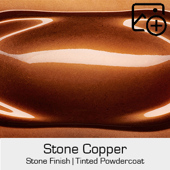 HRE Stone Finish Stone Copper