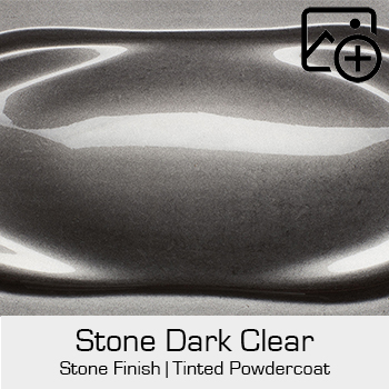 HRE Stone Finish Stone Dark Clear