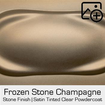 HRE Stone Finish Fronzen Stone Champagne