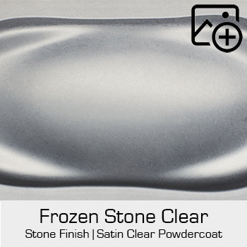 HRE Stone Finish Frozen Stone Clear