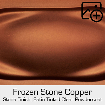 HRE Stone Finish Frozen Stone Copper